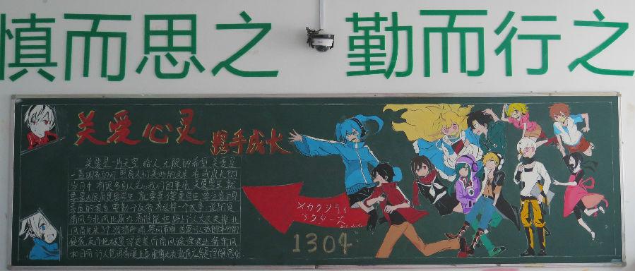 【新闻出版职校】黑板报投票图片